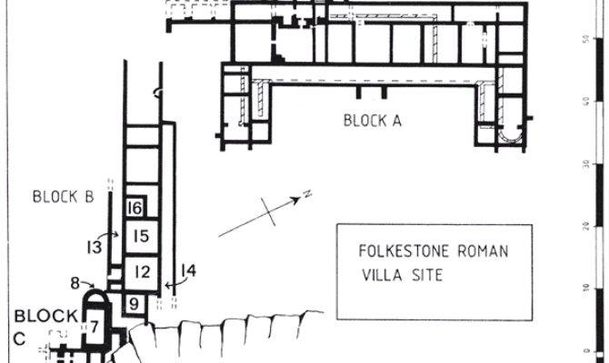 Roman Villa Floor Plan