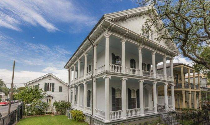 Romantic Chic French Quarter Style House Plans