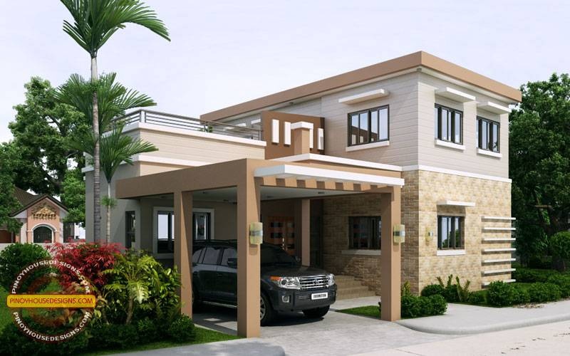 Ronaldo Simple Storey Cool House Plan Pinoy