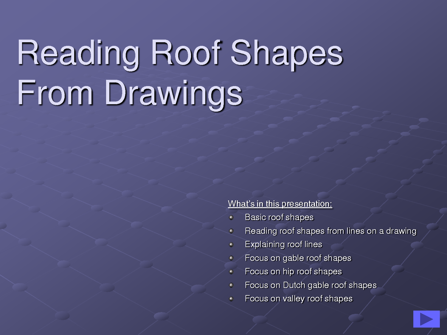 Roof Lines Shapes Facade