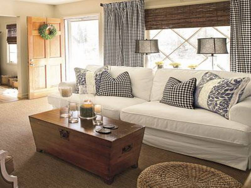 Room Cottage Style Living Design Ideas
