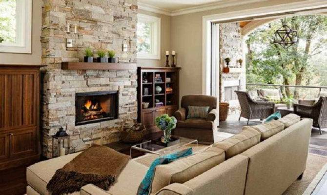 Room Design Ideas Without Small Fireplace