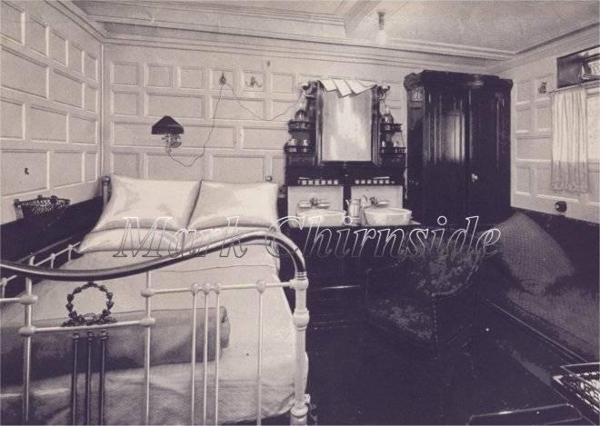 Room Olympic Titanic Britannic Baltic Cabin Class Plan
