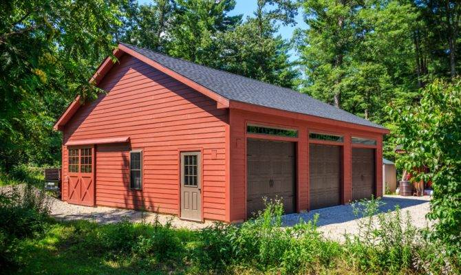 Roosevelt Frame Style Single Story Garage Barn