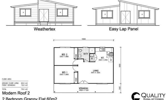 Rose Cottage Bedroom Granny Flat Kit Home Homes