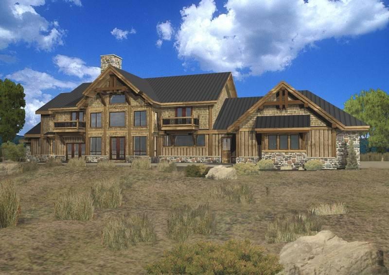 Rose Wild Estate Log Homes Cabins Home Floor Plans