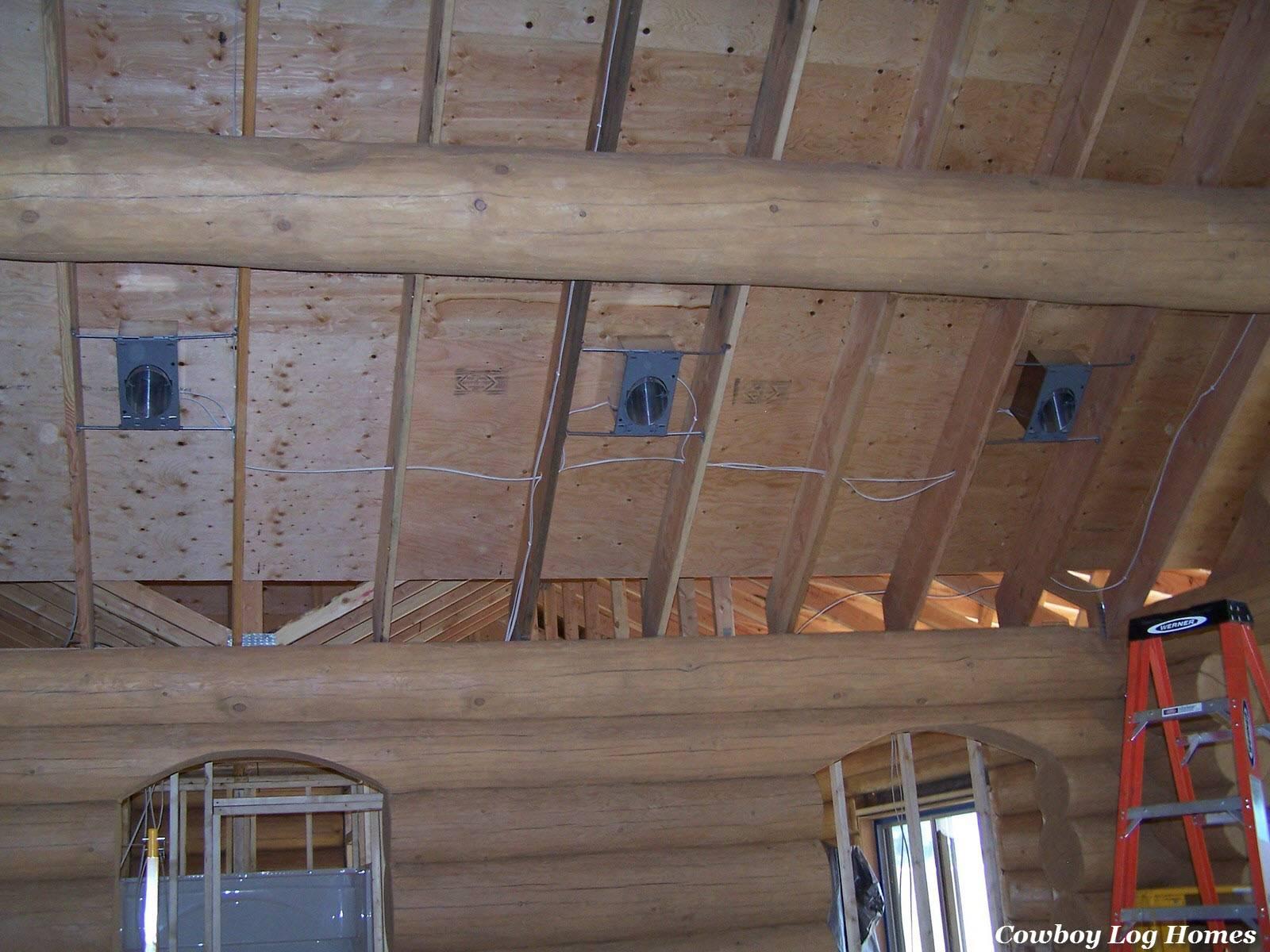 Rough Log Home Cowboy Homes