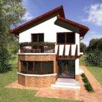 Round Balcony House Plans Transit Spaces Nature Outside