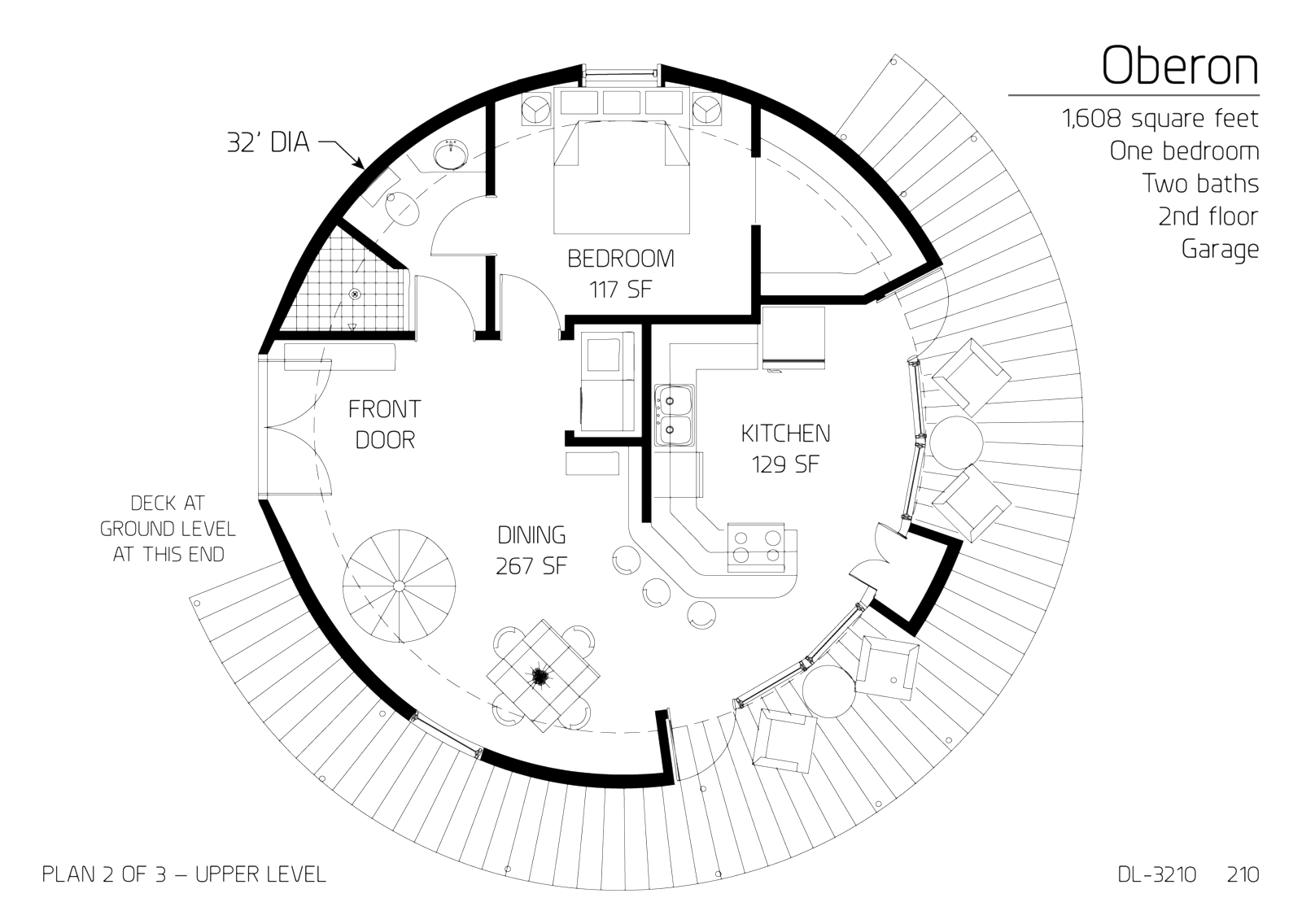 Round Homes Floor Plans