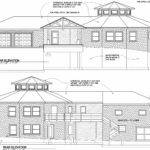 Round House Elevation Architect Drawing
