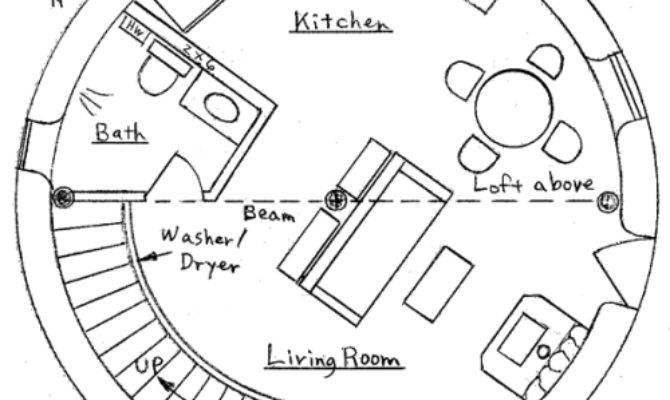 Round Straw Bale House Plans