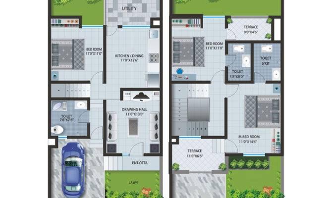 Row House Layout Plan Patel Pride Aurangabad