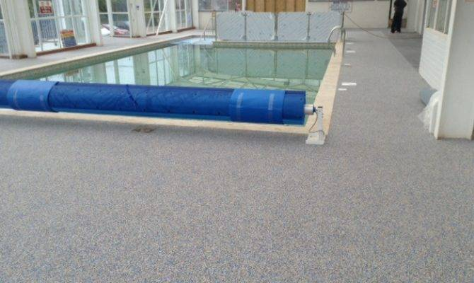 Rubber Safety Flooring Swimming Pools Specialist Non