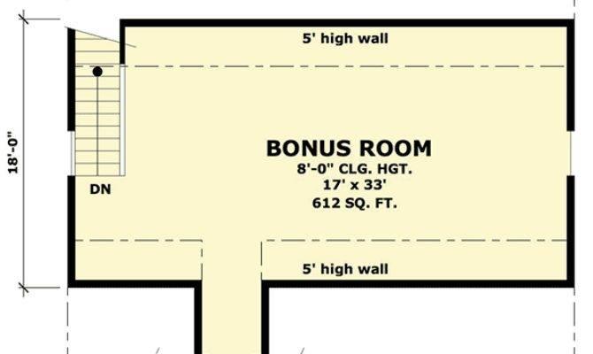 Rugged Garage Bonus Room Above