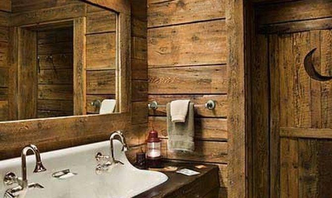 Rustic Bathroom Decor Ideas Urban World