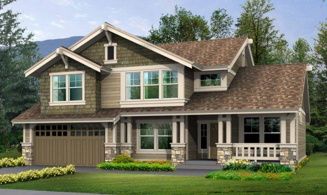 Rustic Craftsman Style House Plans Modern