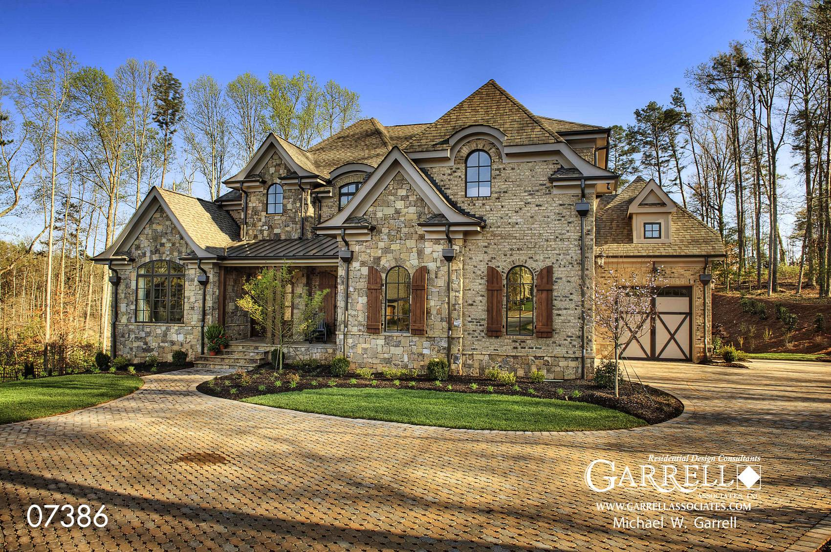 Rustic French Country House Plans Mon Chateau Plan