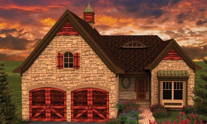 Rustic French Country Hwbdo Ranch Builderhouseplans
