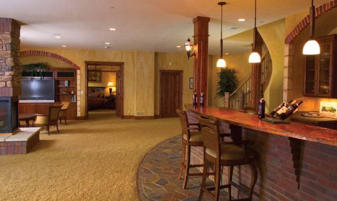 Rustic Home Plan Basement House Plans