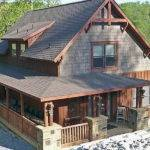 Rustic Home Plans Nice Roof Small Stucco House