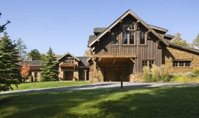 Rustic House Exterior Design Ideas