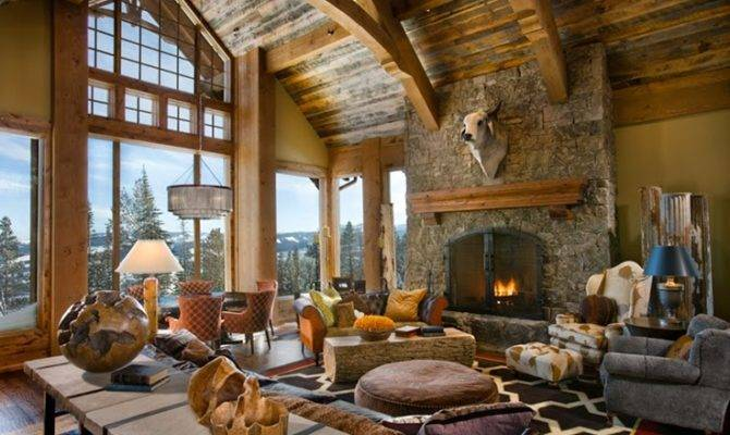 Rustic Interior Design Most Beautiful Houses World