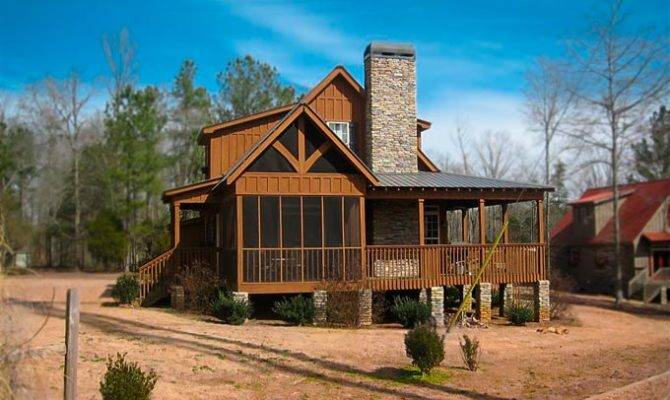 Rustic Lodge House Plans Home Design Style
