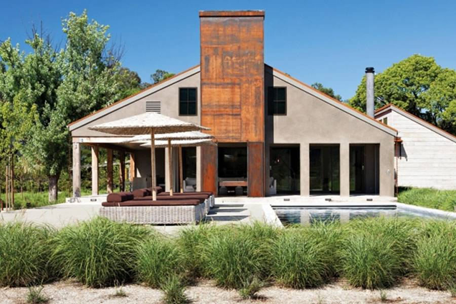 Rustic Modern Home Exterior Design House Mirth Erin Martin