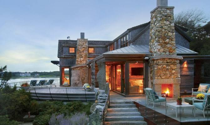 Rustic Modern House Winner Fine Homebuilding Editor