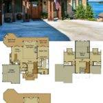 Rustic Mountain House Floor Plan Walkout Basement