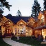 Rustic Shingle Style Lake House