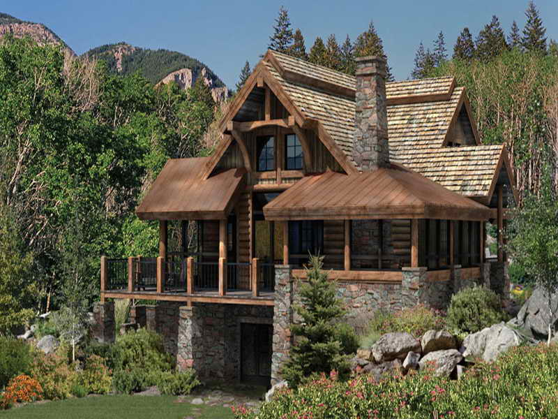 Rustic Small Log Cabin Plans Review Check