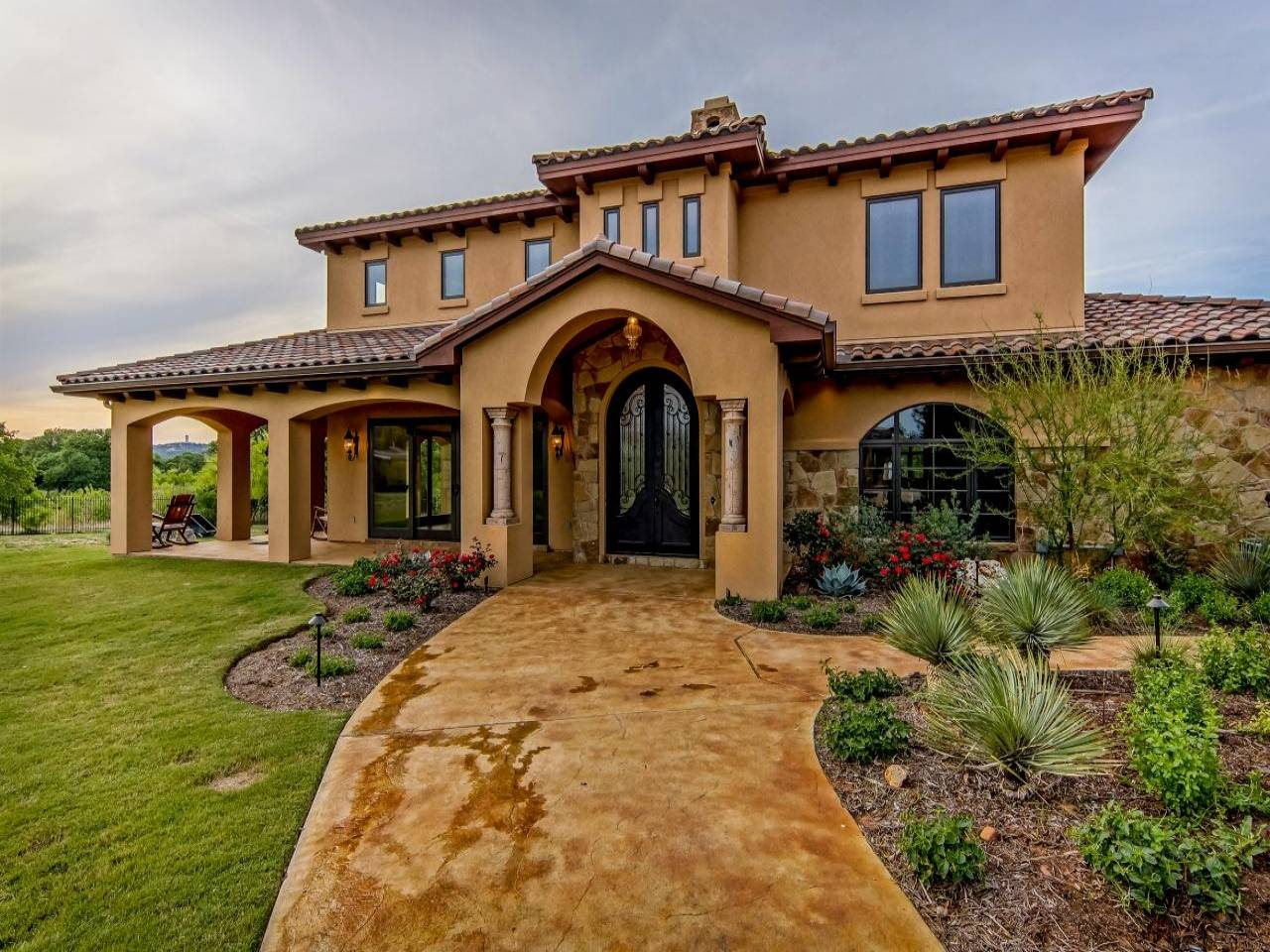 Rustic Spanish Ranch Homes Colonial Architecture