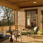 Rustic Veranda Home Design Ideas Remodel Decor