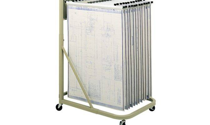 Safco Mobile Blueprint Stand Tiger Supplies