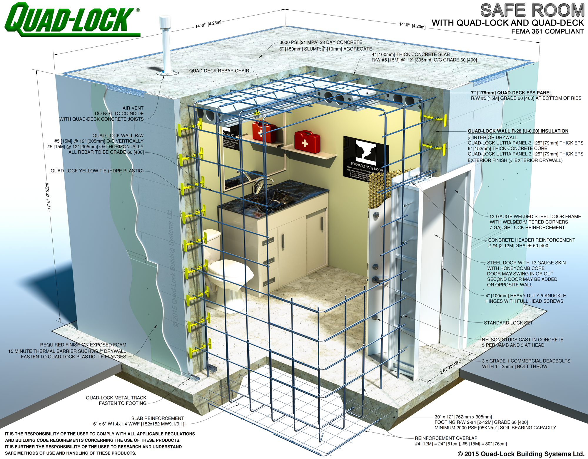 Saferoom Construction Insulated Concrete Forms