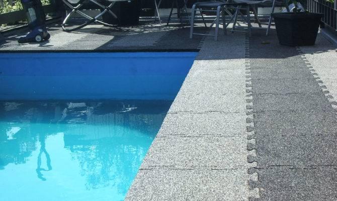 Safety Pool Flooring
