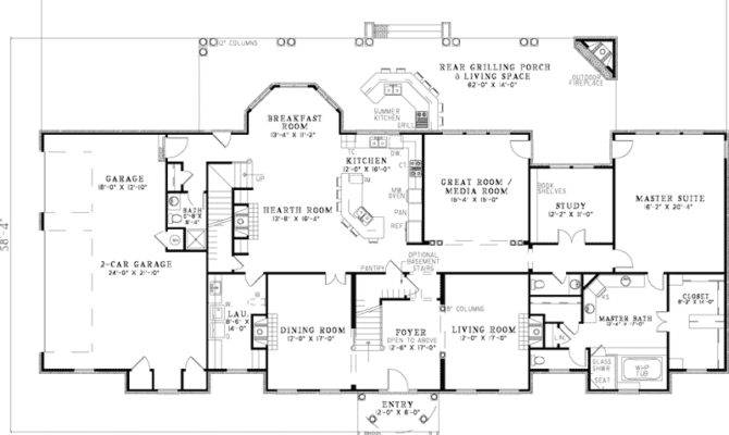 Saltsburg Luxury Georgian Home Plan House