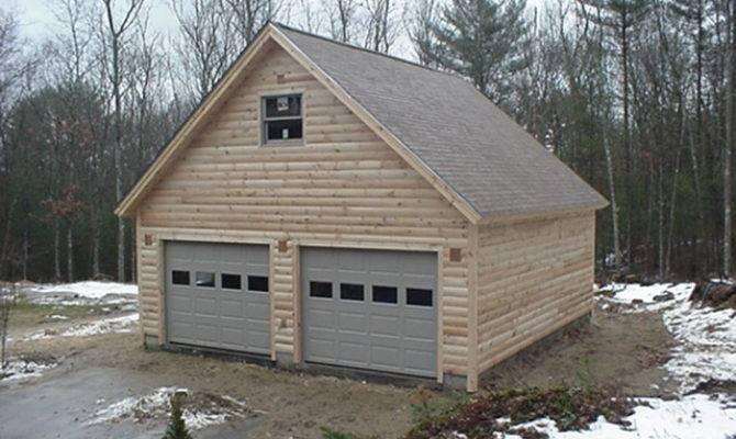 Sample Car Garage Plans Story Loft