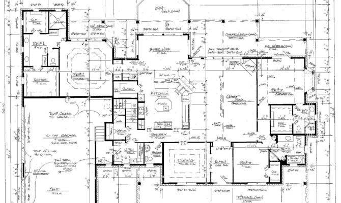 Sample House Plan Blueprints Plans