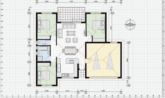 Sample House Plan Home Design Style