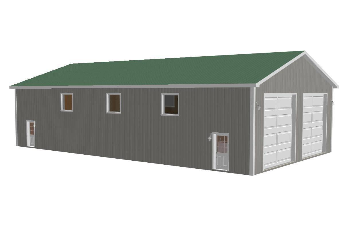 Sample Pole Barn Plans