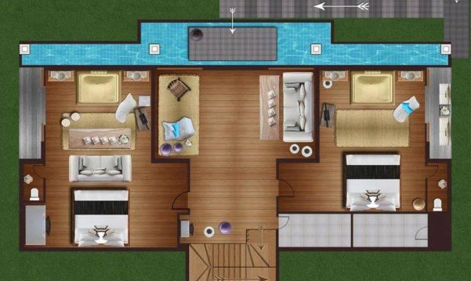 Samui Holiday Homes Villa Belle Floor Plans Koh Thailand