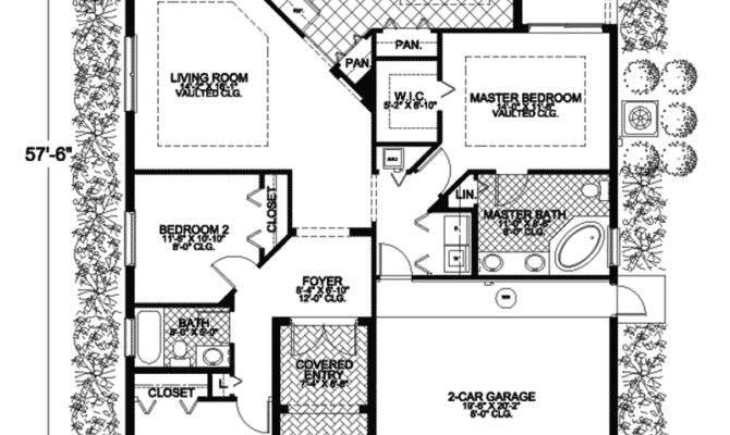 Santa Spanish Ranch Home Plan House Plans