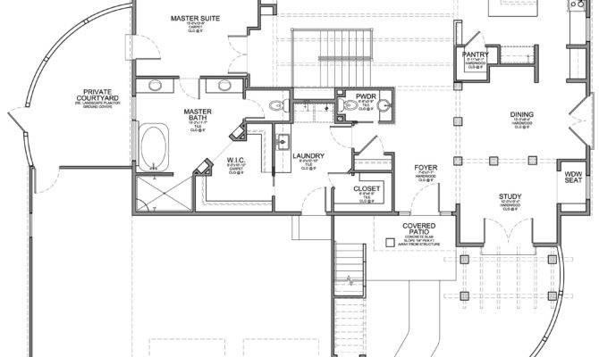Santa Style Home Walkout Floor Plan Evstudio