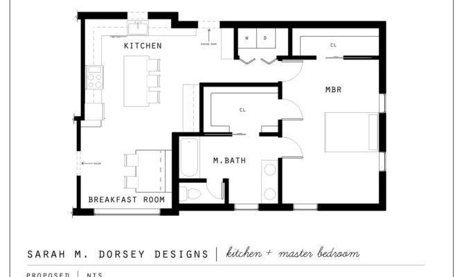 Sarah Dorsey Designs Proposed Kitchen Master Suite