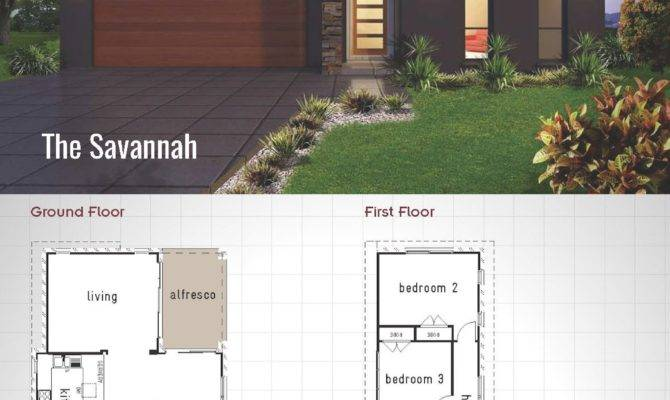Savannah Double Storey House Design Betterbuilt