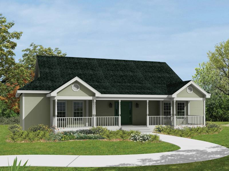Savannah Ranch Home Plan House Plans More