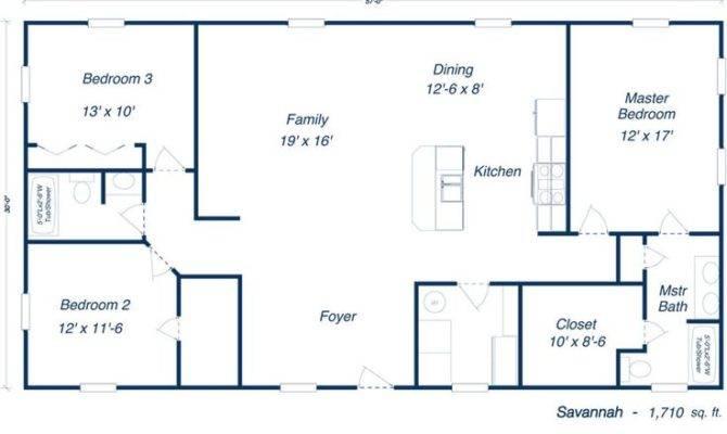 Savannah Steel Home Kit Plan Frame Plans Kits Pinter