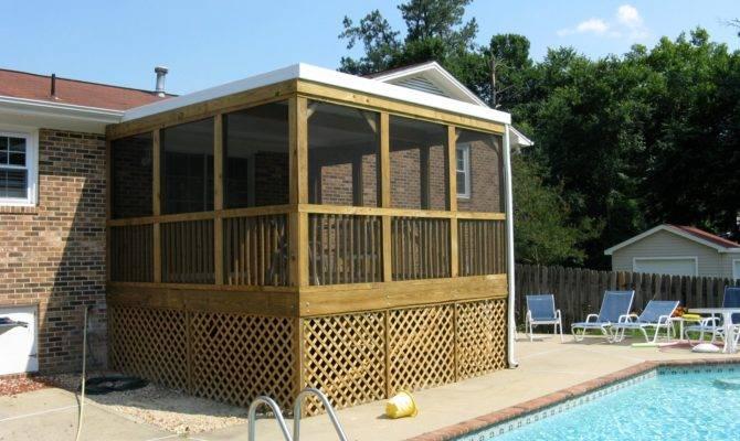 Screen Porch Flat Roof Joy Studio Design Best